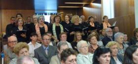 Acto de acción de gracias aniversario Maria Gay Tibau