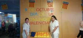 Celebración del 9 de octubre: Día de la comunidad valenciana. Residencia San José