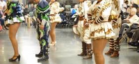Actividad Danzas Bolivianas en Residencia San José