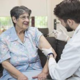 Tratamiento de la gripe y el resfriado en la tercera edad