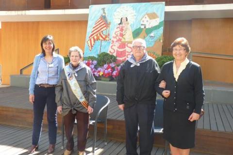 Celebración de las Fallas 2014 en la Residencia San José de Burjassot