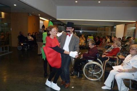 Carnaval 2014 en la Residencia San José de Burjassot