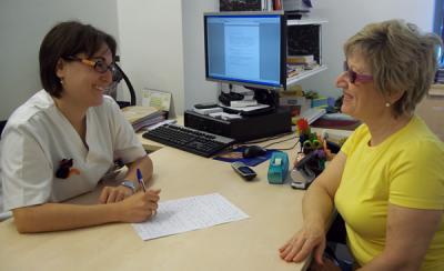Entrevista a la familiar de una residente de Residencia San José