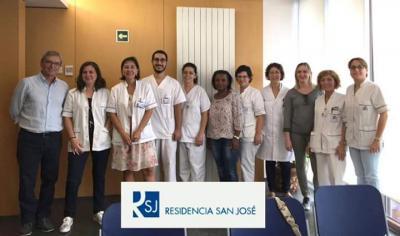 Equipo Programa No Sujetes. Residencia San José