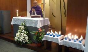 Eucaristía por los difuntos en la Residencia San José
