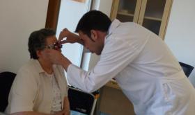 Revisión óptica y auditiva en la Residencia San José