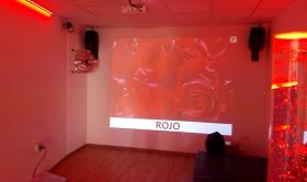 Nueva sala multisensorial en la Residencia San José para mayores, en Burjassot, Valencia