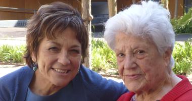 Familiar de una residente de la Residencia San José